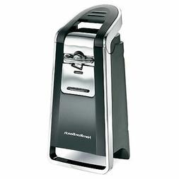 Hamilton Beach 76606ZA Smooth Touch Can Opener, Black and Ch