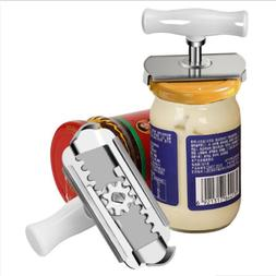 Adjustable Stainless Can Jar Tin Bottle Opener Food Kitchen