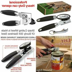 Can Opener - Manual Easy Turn - Sharp Blade For Smooth Edge