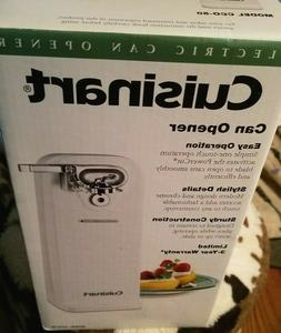 Cuisinart Deluxe Electric Can Opener Smooth Edge Touch Comme
