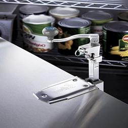 Edlund G-2 Manual Can Opener with Standard Bar and Plated Ba