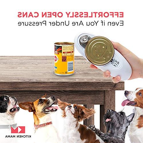 Can Opener: Easy to Use and | Battery Operated Portable, Cut Perfect for Senior