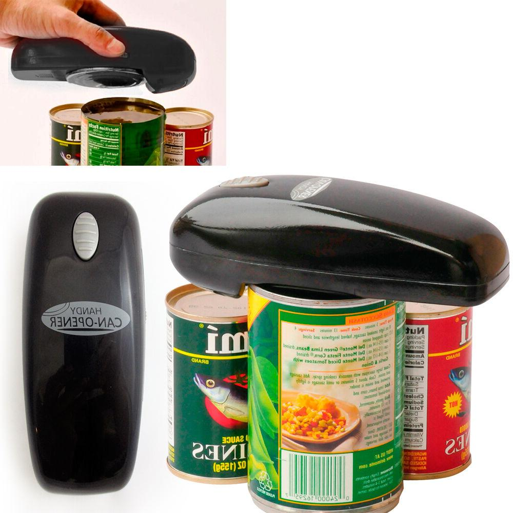 As Seen on TV Handy Can Opener  Battery-Operated Auto Hands-