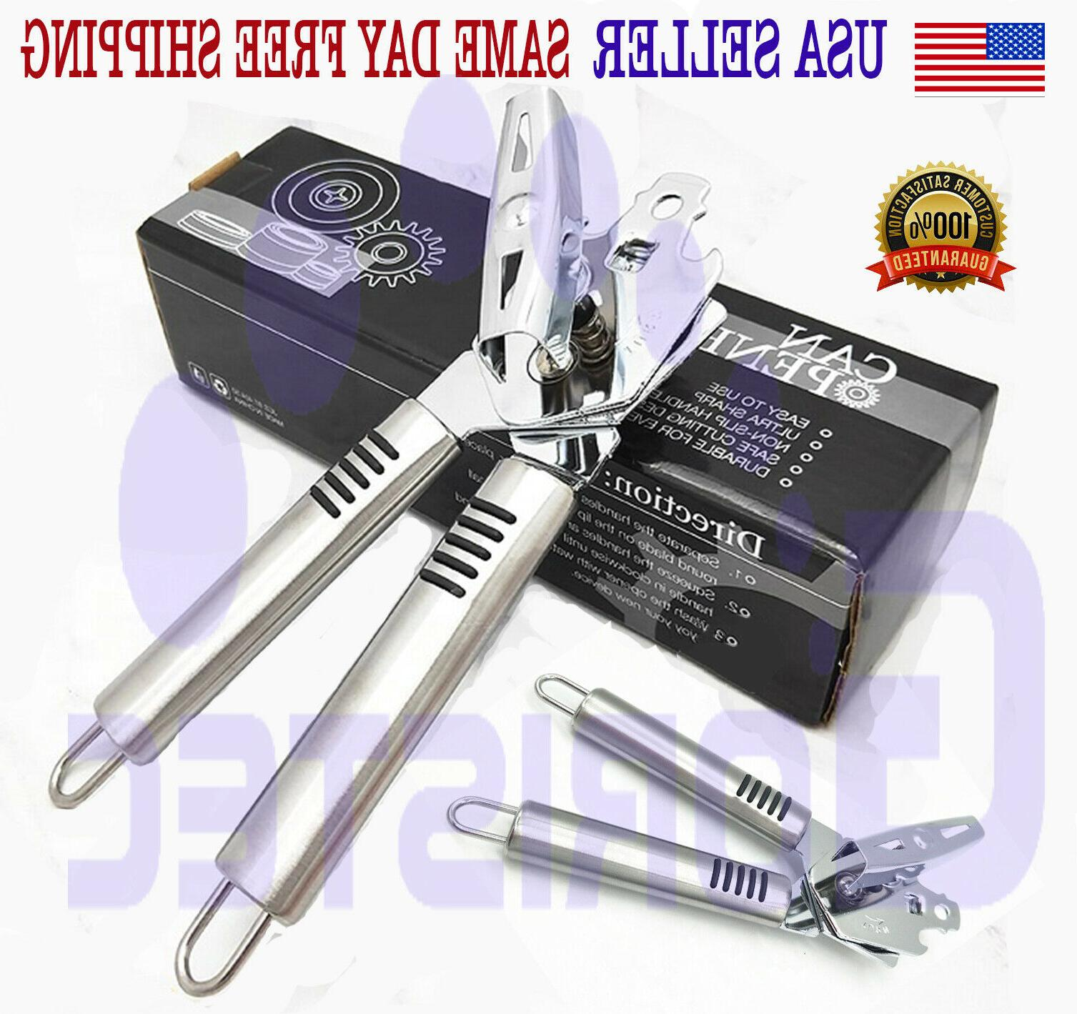 premium can opener stainless steel heavy duty