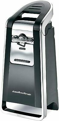 Hamilton Beach Smooth Touch Electric Can Opener Easy Push Do
