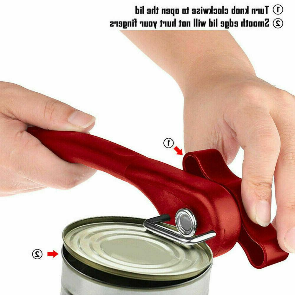 stainless steel tin can opener professional manual