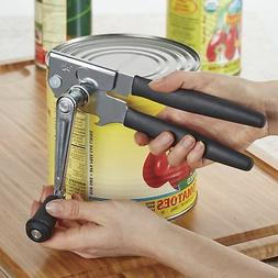 Large & Long Hand Crank Can Opener Manual Heavy Duty Steel C