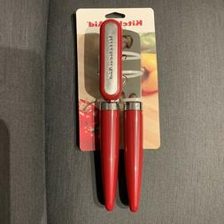 KitchenAid Multifunction Can Opener Red Stainless Steel Blad