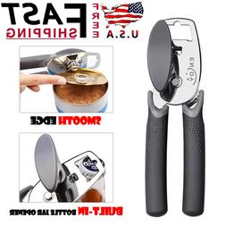 Multifunction Stainless Steel Manual Can Opener Smooth Edge