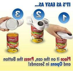 New One Touch Automatic Can Jar Opener Tin Open Tool Cordles