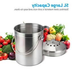 Manual Tin Can Opener Safe Cut Lid Smooth Edge Side Stainles